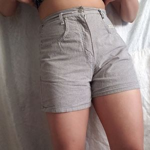 Pants - 3for35 Gingham shorts